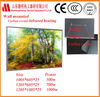 decorative picture for bathroom carbon crystal wall slim infrared far heater