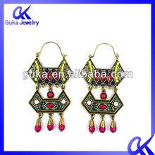 Fashion Earring stud shamballa crystal ball earrings