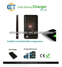 3000mAh Portable Solar Charger for iPhone/iPad, Samsung, HTC, Blackberry, Nokia, Sony Ericsson, LG, MOT etc.