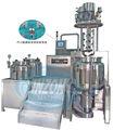 aspirador de homogeneização e emulsificação de creme cosmético que faz a máquina