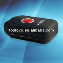 Personal satellite phone tracking gps