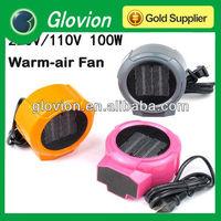 NEW Style warm air fan heater colorful fan heater with warm air warm fan for room