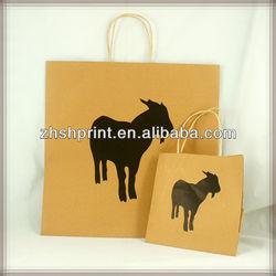 Recycle custom craft paper bags