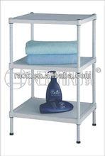 3 Tier Adjustable Wire Bathroom Soap Rack-N