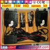 Hot sale!!! 75W H4 hid xenon kit, h4 hi/lo,H1, H3, H4, H7, H11, 9005, 9006 bulbs