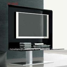 Newland modern hot bending glass luxury tv stand (TV-S21B)