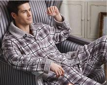 men's solid colour lounge wear