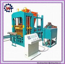 QT10-15 hydraulic vibration automatic brick machine for sale