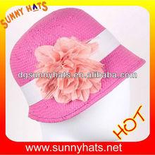 Designer women summer straw hats