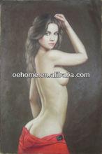 portrait nude women oil painting