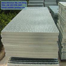 galvanized plain grating,galvanized serrated steel grating,galvanized plain grating fabricator