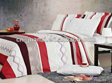 comforter /big flower /duvet cover factory price/soft/ polyester/reactive print /