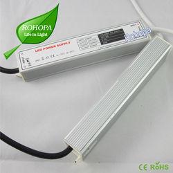 Mini size 30w waterproof dc power supply 5v 12v 24v neon strip led power supply