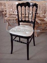 Rental wooden banquet/wedding tiffany chair