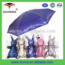 2015 Most Popular Cute Animal Shape Kids cheap super mini umbrella