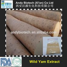 High Quality Plant Extract Wild Yam P.E. 24% Diosgenin HPLC