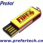 Swivel USB Memory Drive with 1GB Genuine Capacity PassedQuality Test HighSpeed Logo Printed Swivel for USB Memory Drive