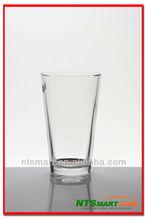 shot glass, mixing glass, glassware
