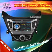 Hyundai Elantra 2012 Car DVD Player with 3G