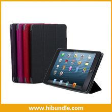 PU Leather Folio Magnetic Folding Cover For iPad mini
