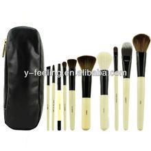 Professional Brushes Kit 10 PCS Cosmetic Brush Set with Eyeshadow Brush, Blush brush, foundation brush