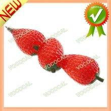 Creative Fruit Shaped Pens Strawberry Pen