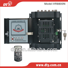 h.264 4ch full d1 real time mobile dvr support remote control, usb mouse, control pnel control mode