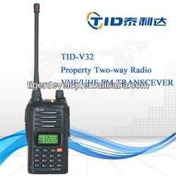 TD-V32 wireless VHF UHF transceiver with 5W RF power output