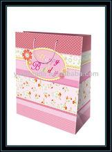 christmas/birthday packing paper gift bag