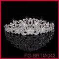 jóia da forma simples design princesa strass coroa tiara
