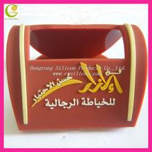 2012 New style Promotional custom eco-friendly Soft pvc/silicone shoe shape phone holder