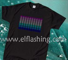 el equalizer flashing t-shirt