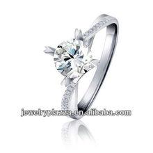 2011 unique fashion Diamond rings ,white gold rings