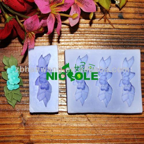 Cake Decor Ltd Company Check : Nicole mini flower decorationg gum paste molds cake icing ...