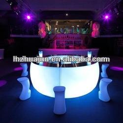 led light club counter/glowing bar desk/outdoor bar counter