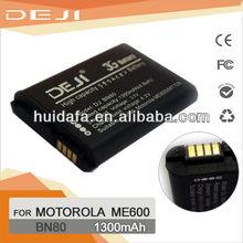 Shenzhen super long battery mobile phone for Motorola BN80