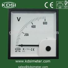 Moving Iron analog panel meter BE-96 AC 600V voltmeter
