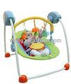 Mp3& de control de voz& temporizador automático swing cuna para bebés