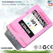# 901 Tri-color Remanufactued INK cartridge for hp 901