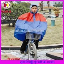 Hot-sell 0.20mm 100%PVC bicycle rain poncho
