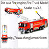 scale models fire engine, fire truck model,diecast fire truck.