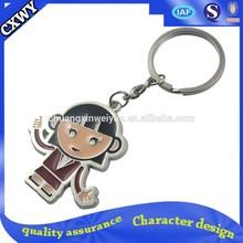 custom shape metal keychain