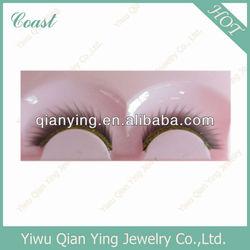 lady's natural false eyelash make up products black eyelashes