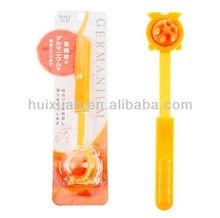 Yiwu stock telescopic Back Massage Stick flexible soft body massager plastic mini massage roller