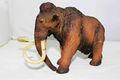 De plástico figura de elefante; figuras de animales de aspecto real; de plástico personalizada figuras