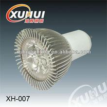 2012 Hot sales 3x1w E27 XH-007 led cup lamp