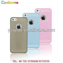 2012 ultrathin translucent matte color PC case for iphone 5