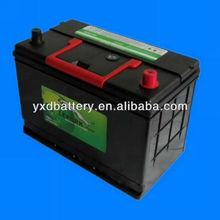 N70ZL Electric Vehicle Lead Acid Battery 75AH
