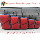 High Quality Fashionable Shandong Silk Travel Trolley Luggage Set