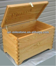 Wholesale Handmade Wooden Treasure Chest with Lid